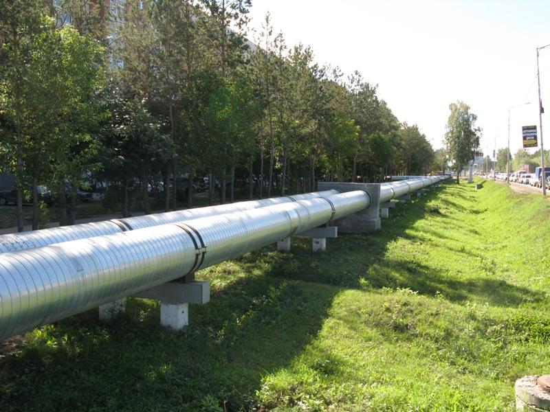 надземная прокладка трубопроводов фото